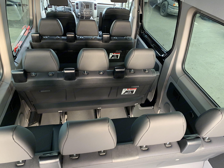 12 passenger row seating . Mercedes-Benz Sprinter 2018