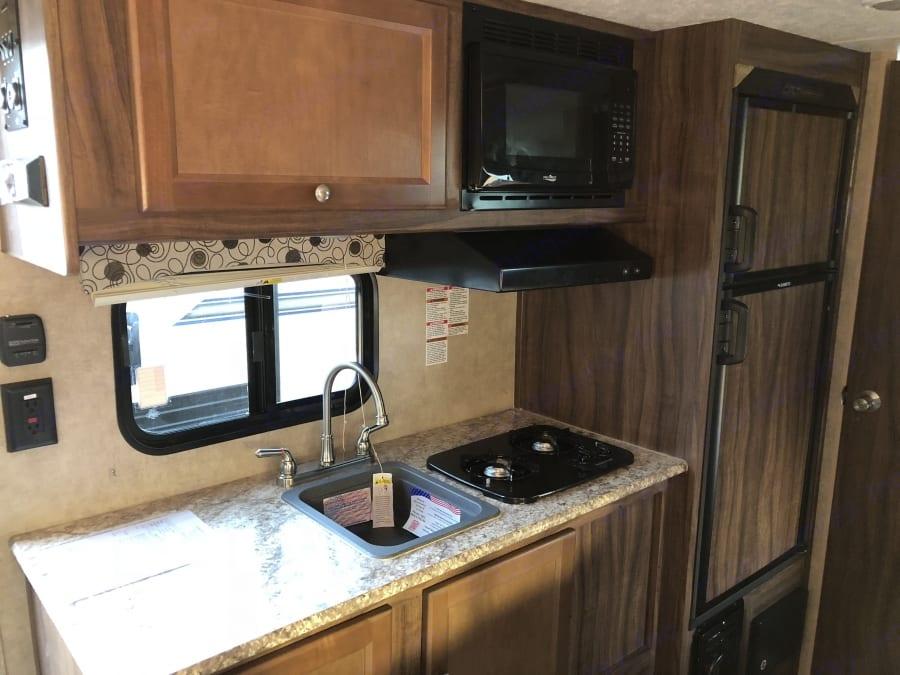 Kitchen. Coachmen Clipper 2018