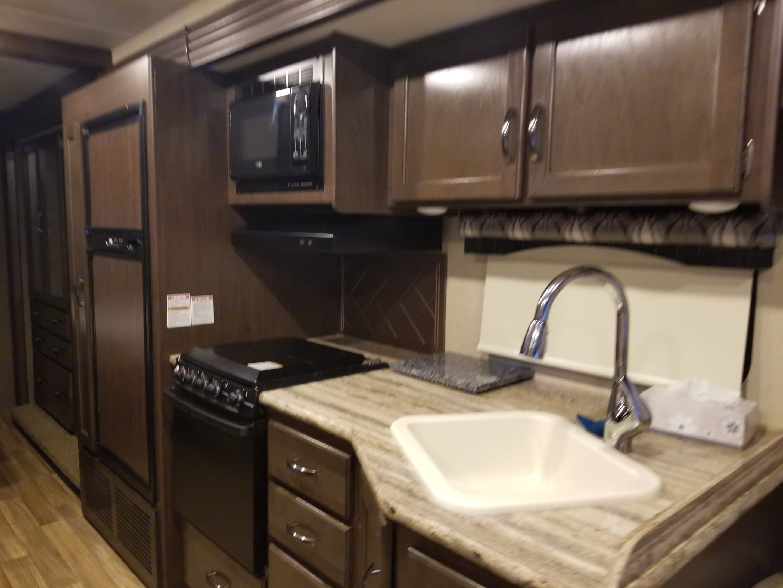 Kitchen. Thor Motor Coach A.C.E 2017