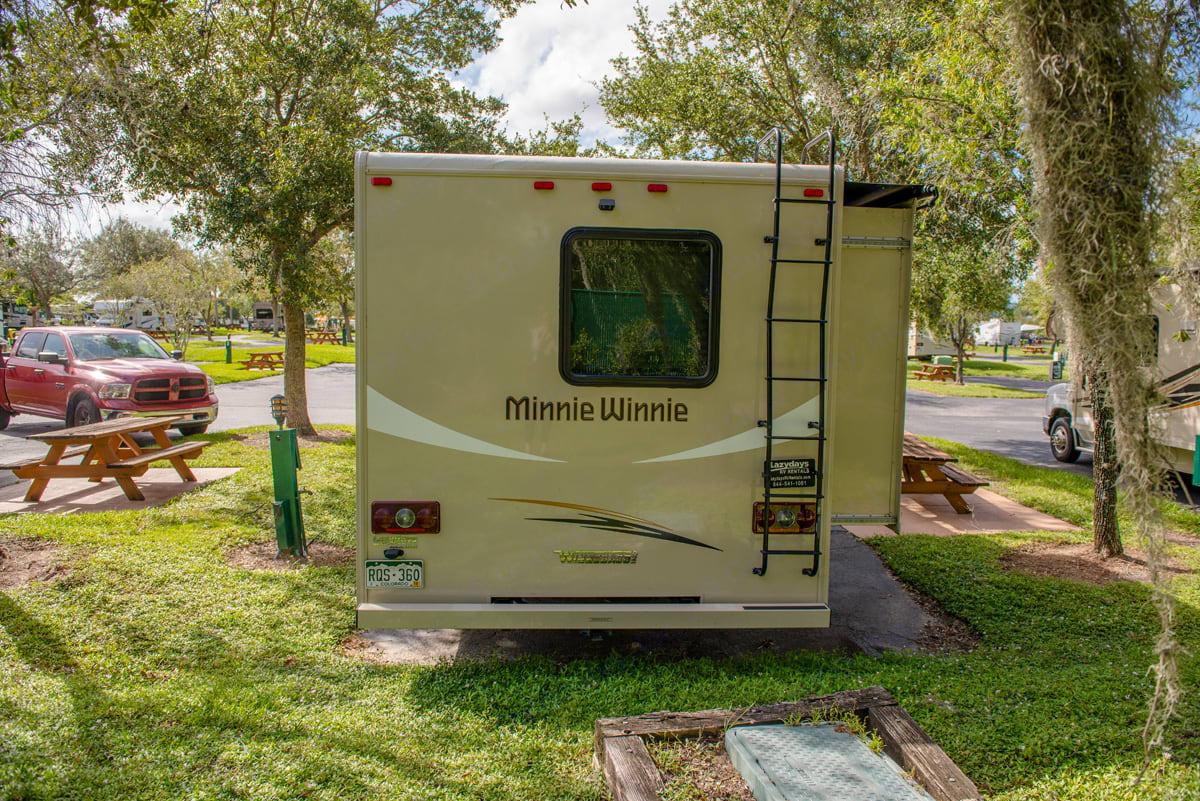 Winnebago Minnie Winnie 331H Bunk 2017