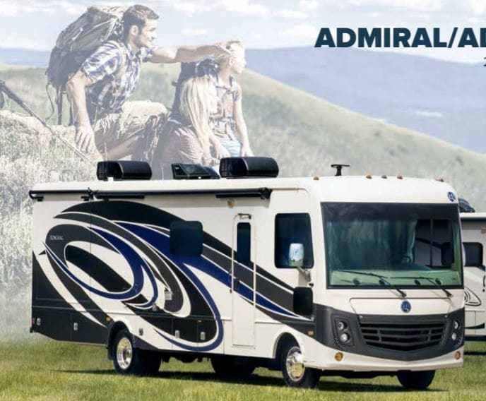 Want to go hiking with your son and create memories.. We can help!. Holiday Rambler Admiral 2018