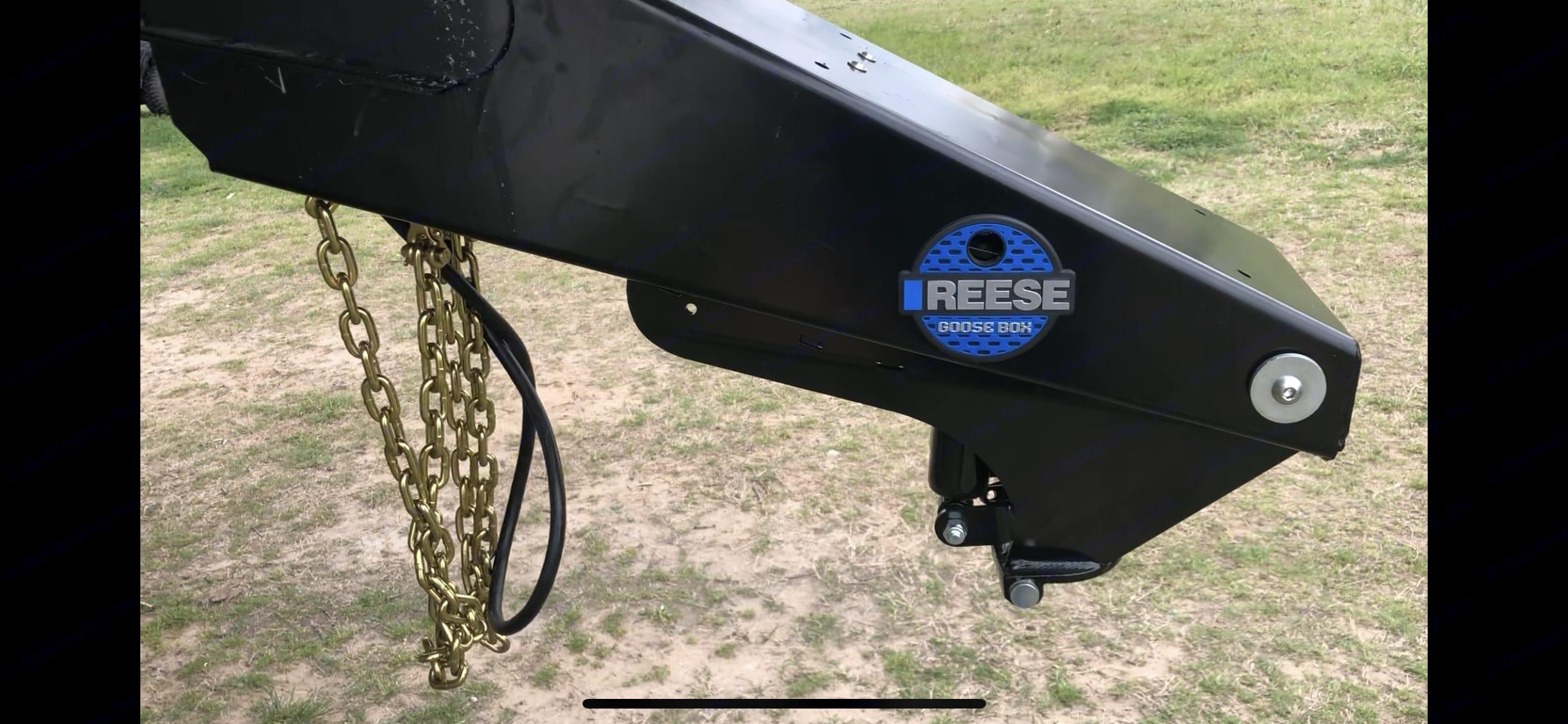 Reese goosebox. Coachmen Chaparral 2019
