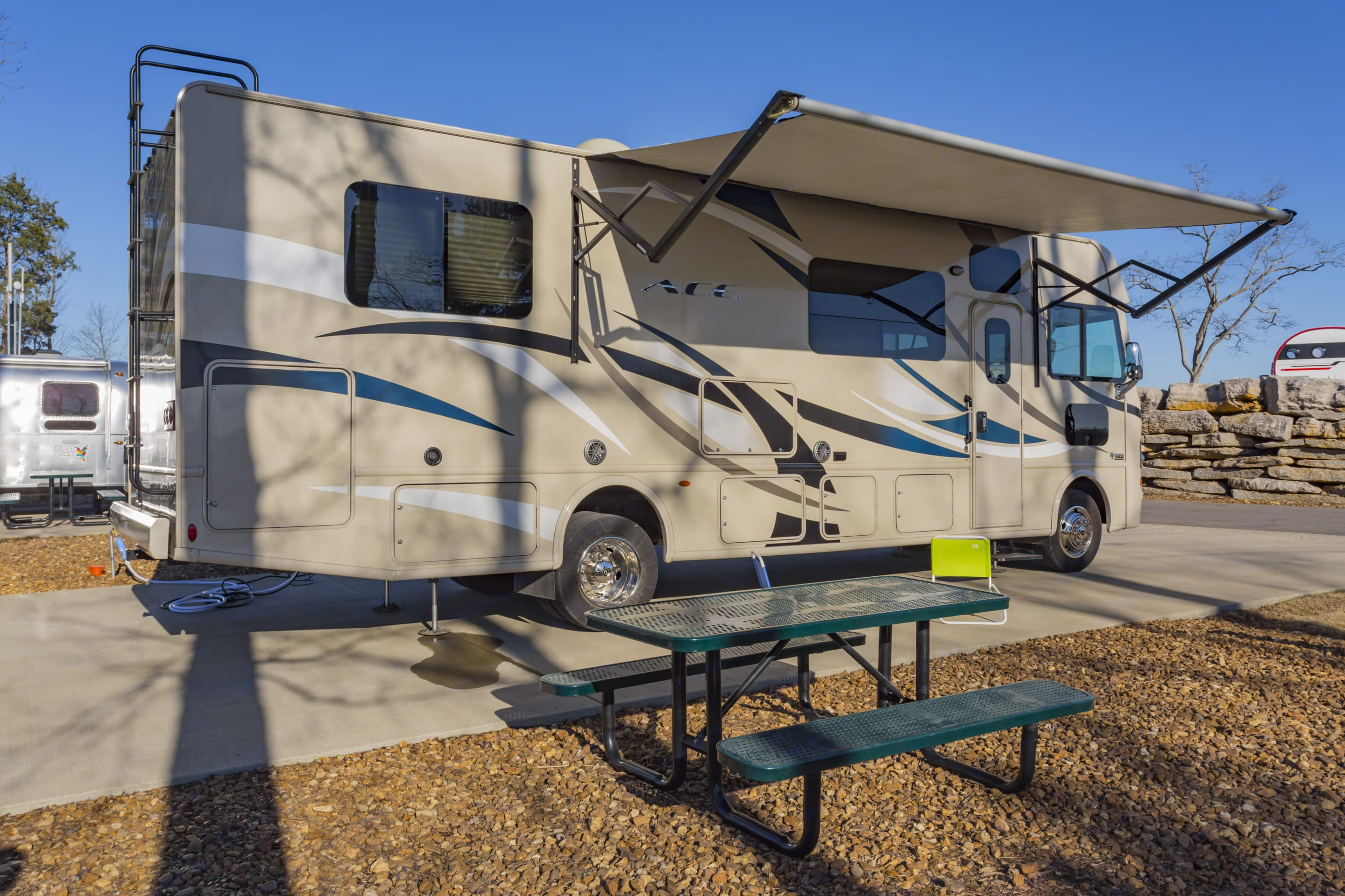 Tons of storage underneath and in the rear.. Thor Motor Coach A.C.E 2017