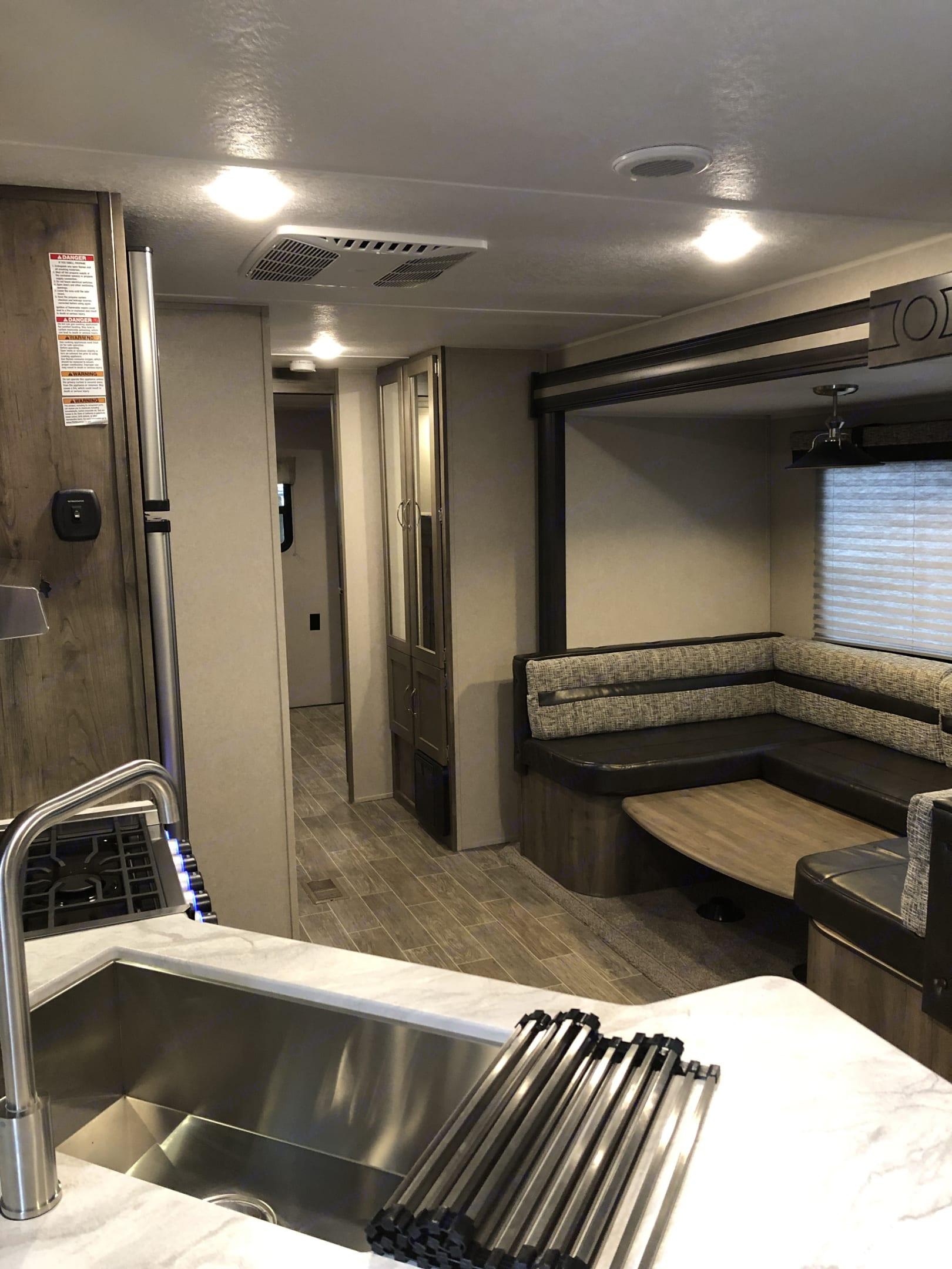Dining room/ linen closet area . Palomino Puma 2019