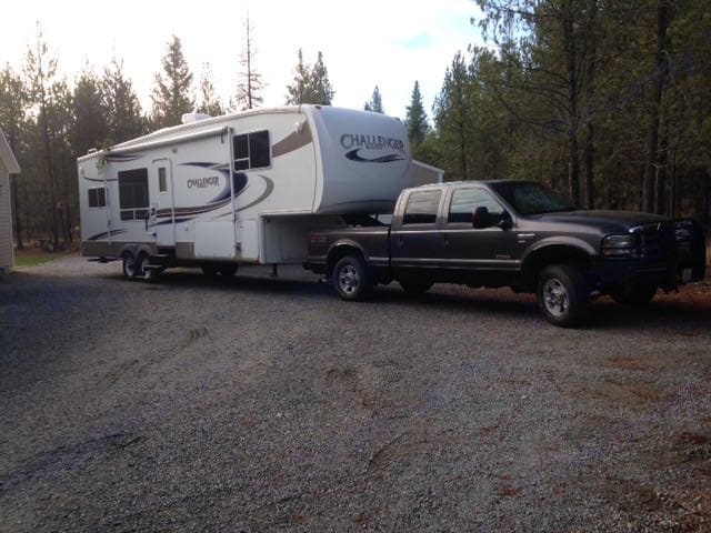 Hooked up and headin got the next adventure. Keystone Challenger 2006