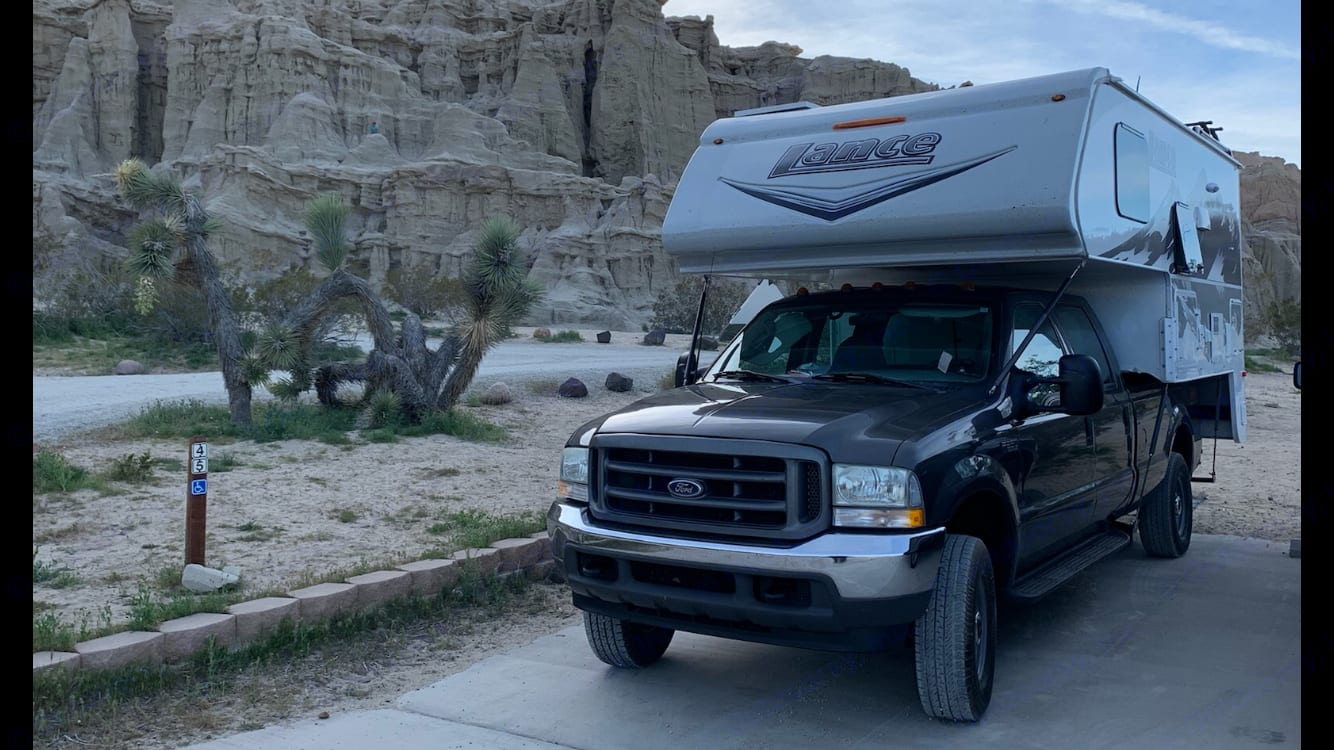 Red rock canyon state park, Cantil, ca.  Take me anywhere!!. Lance 850 2019