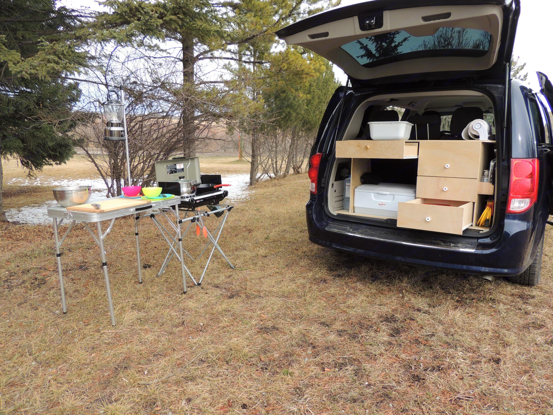 Outdoor Kitchen. Dodge Grand Caravan 2015