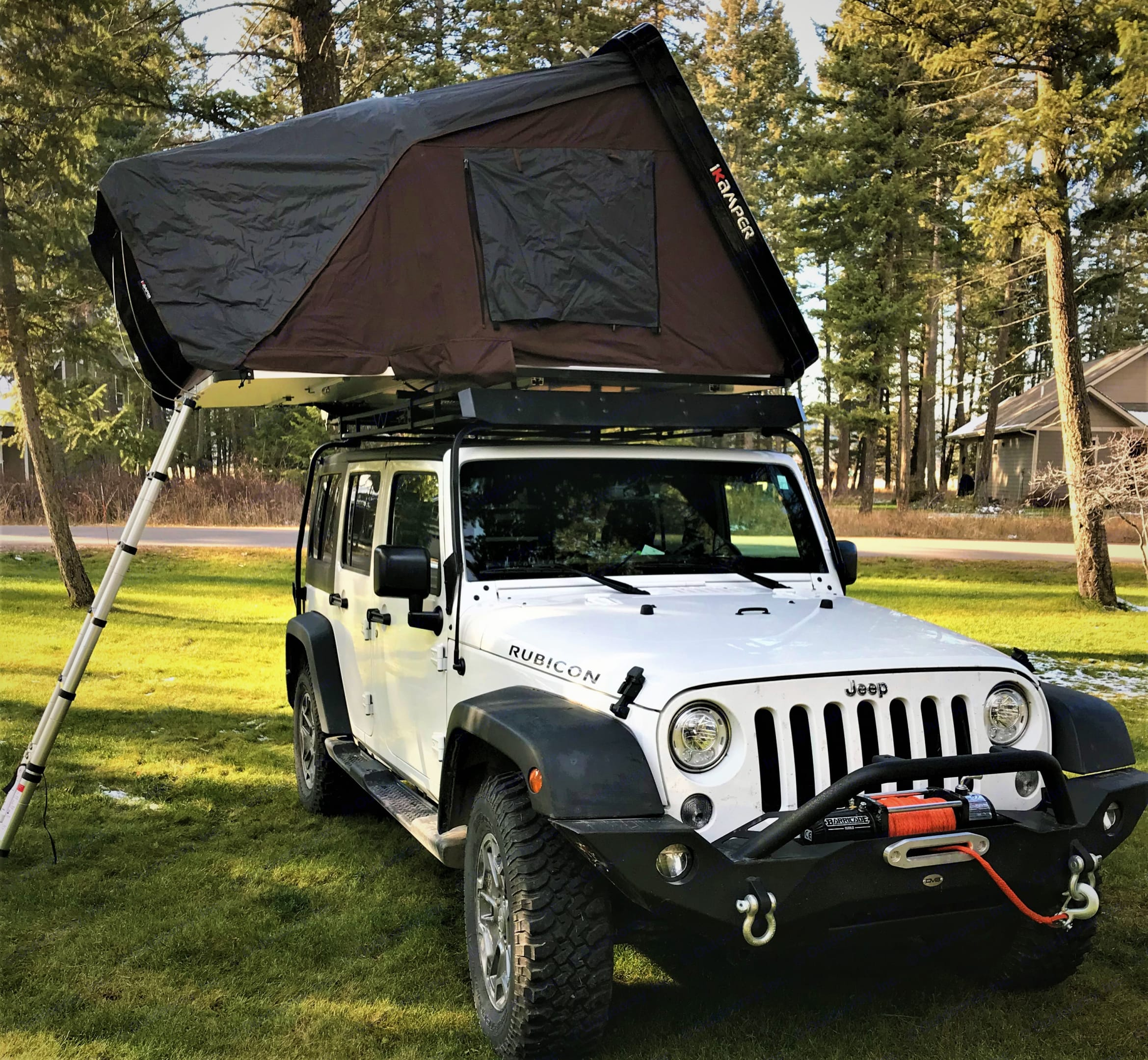 Explore Northwestern Montana in 2017 Jeep Rubicon. . Jeep JKU  4 door Jeep Rubicon 2017