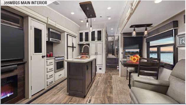 Kitchen. Jayco Eagle 2019