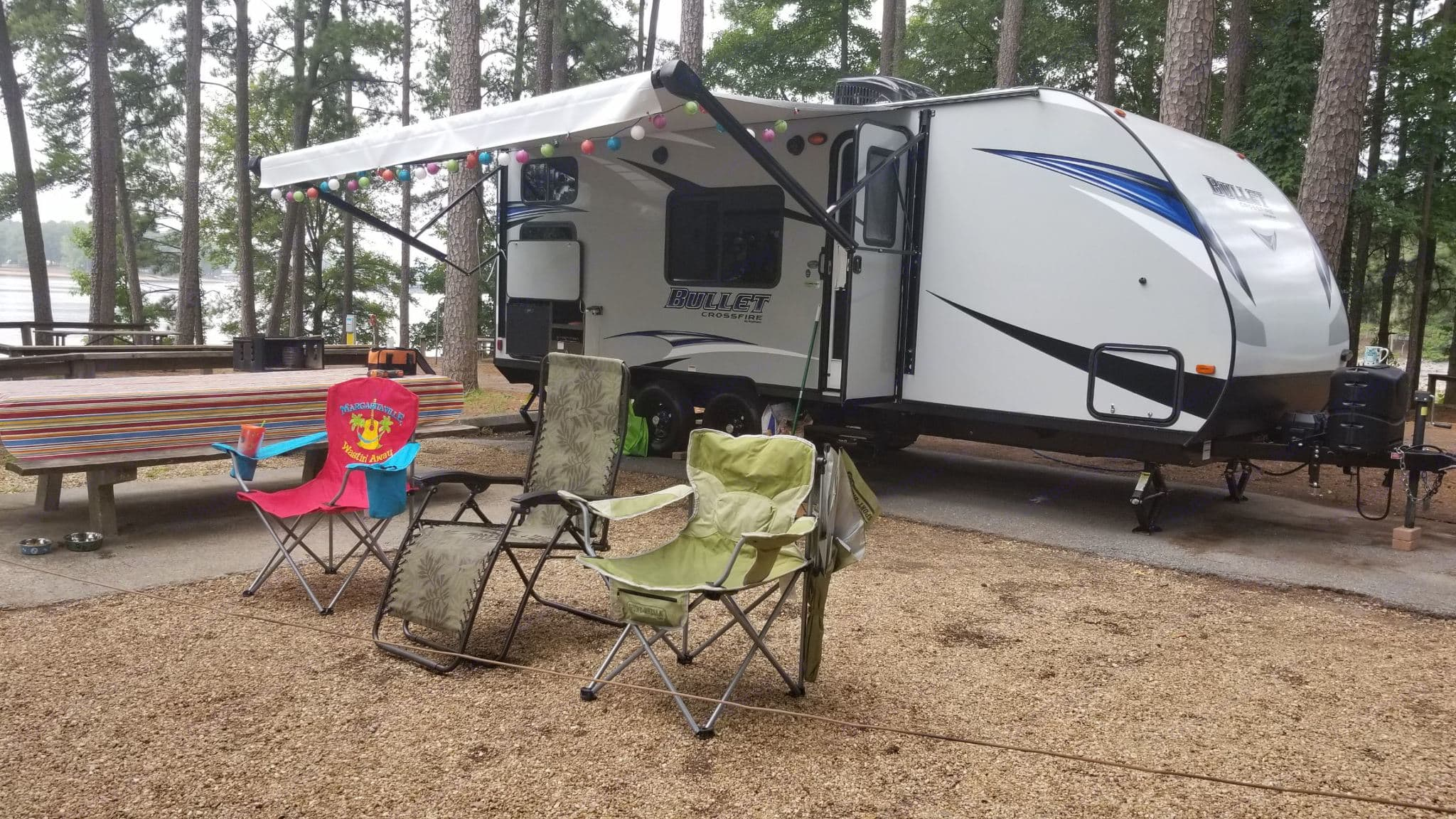 All ready for you to start your Adventure and Relaxing. Fully Equipped and Waiting for You ! . Keystone Bullet Crossfire 2018