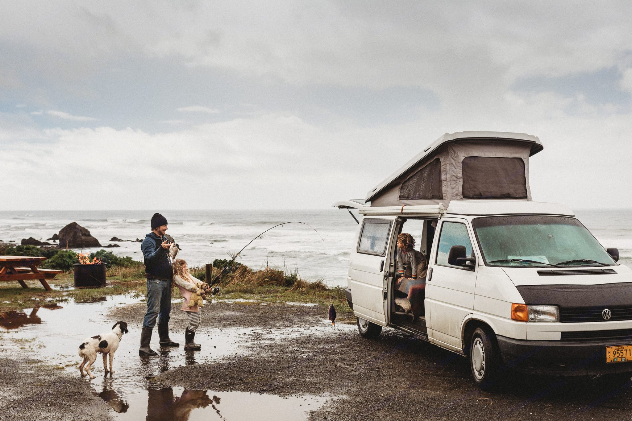 Roy's Ride is the ultimate option for a family of four in search of adventure. . Volkswagen Eurovan Camper 1995