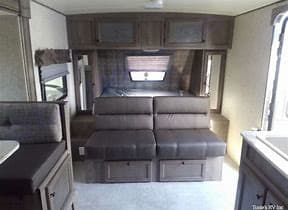Front Convertible Bed. Coachmen Apen Nano 2019