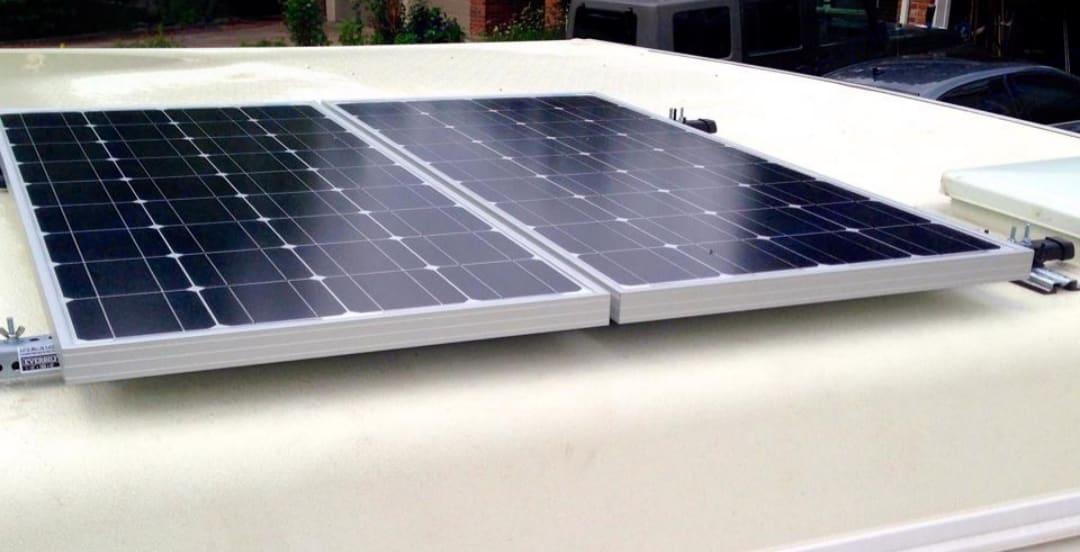 350 Watts of Free Solar power from the mother Sun!. Adventurer Lp Adventurer 2001