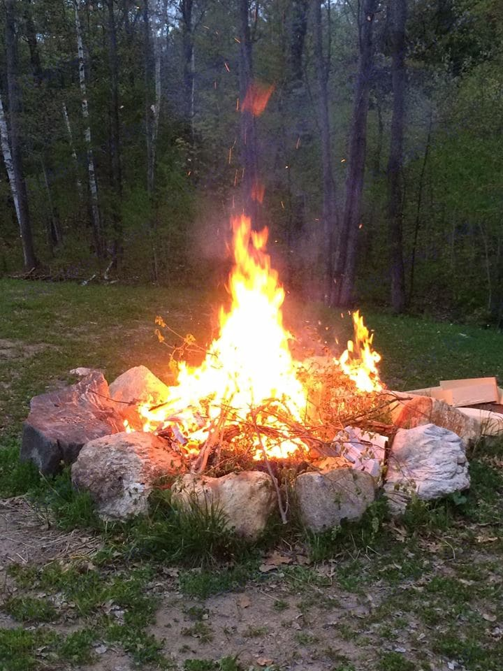 Pull up a chair and enjoy a fire in the firepit. Firewood is available for a small charge. . Heartland Elkridge 2017
