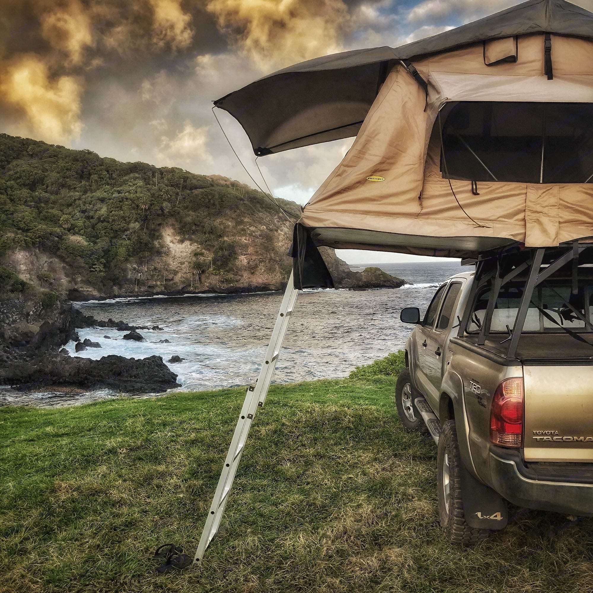 """""""The Grassy Knoll"""" one of our secret spots. toyota tacoma 2007"""