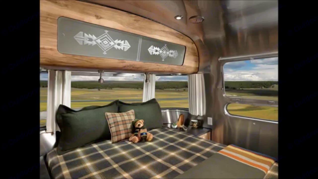 Bedroom. Airstream Pendleton 2016