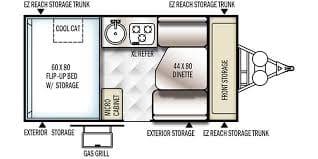 Great Floor Plan!. Forest River Rockwood A192HW 2017