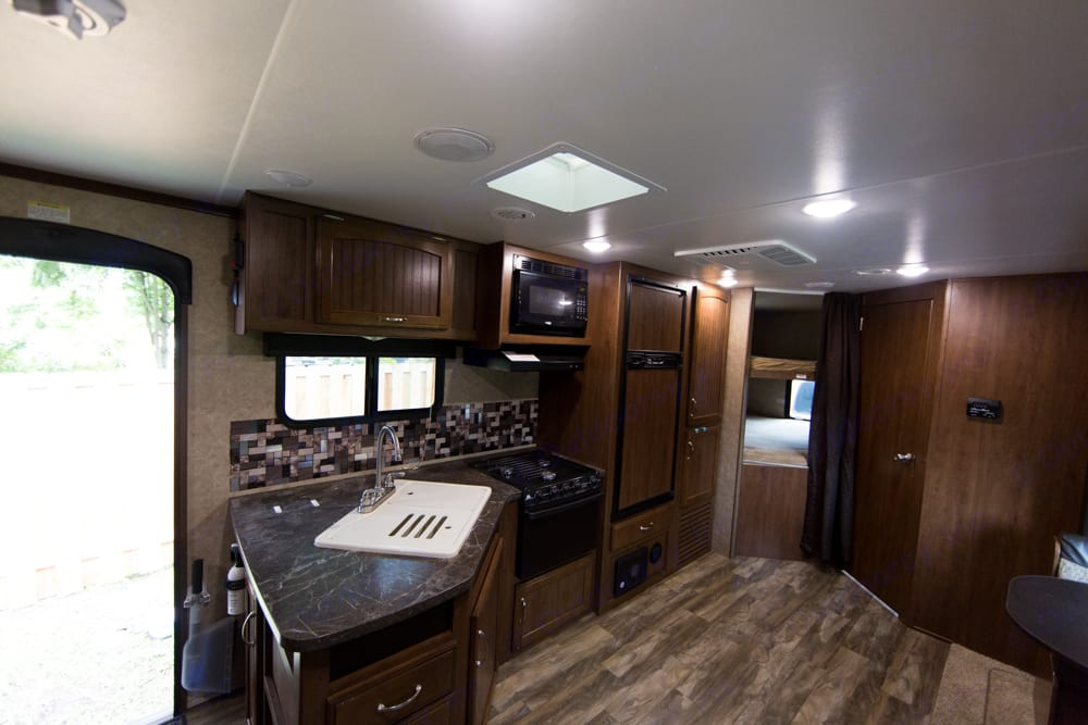 Large open living space. Jayco Jay Feather 2017