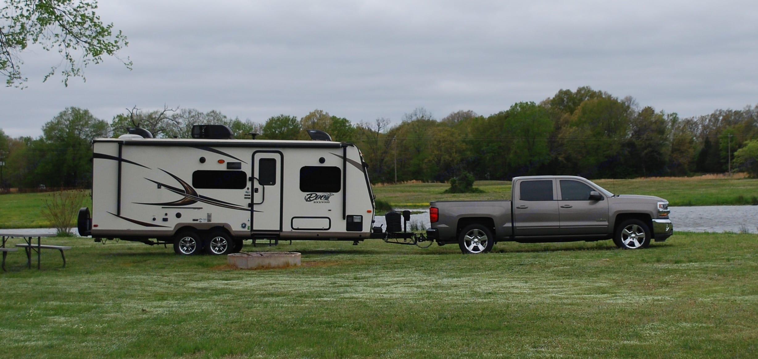 Camper in-tow. Forest River Rockwood Roo 233S 2017