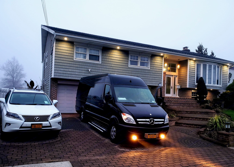 Getting ready to leave Nassau County. Destination Palm  Beach County.. Mercedes-Benz Sprinter 2013