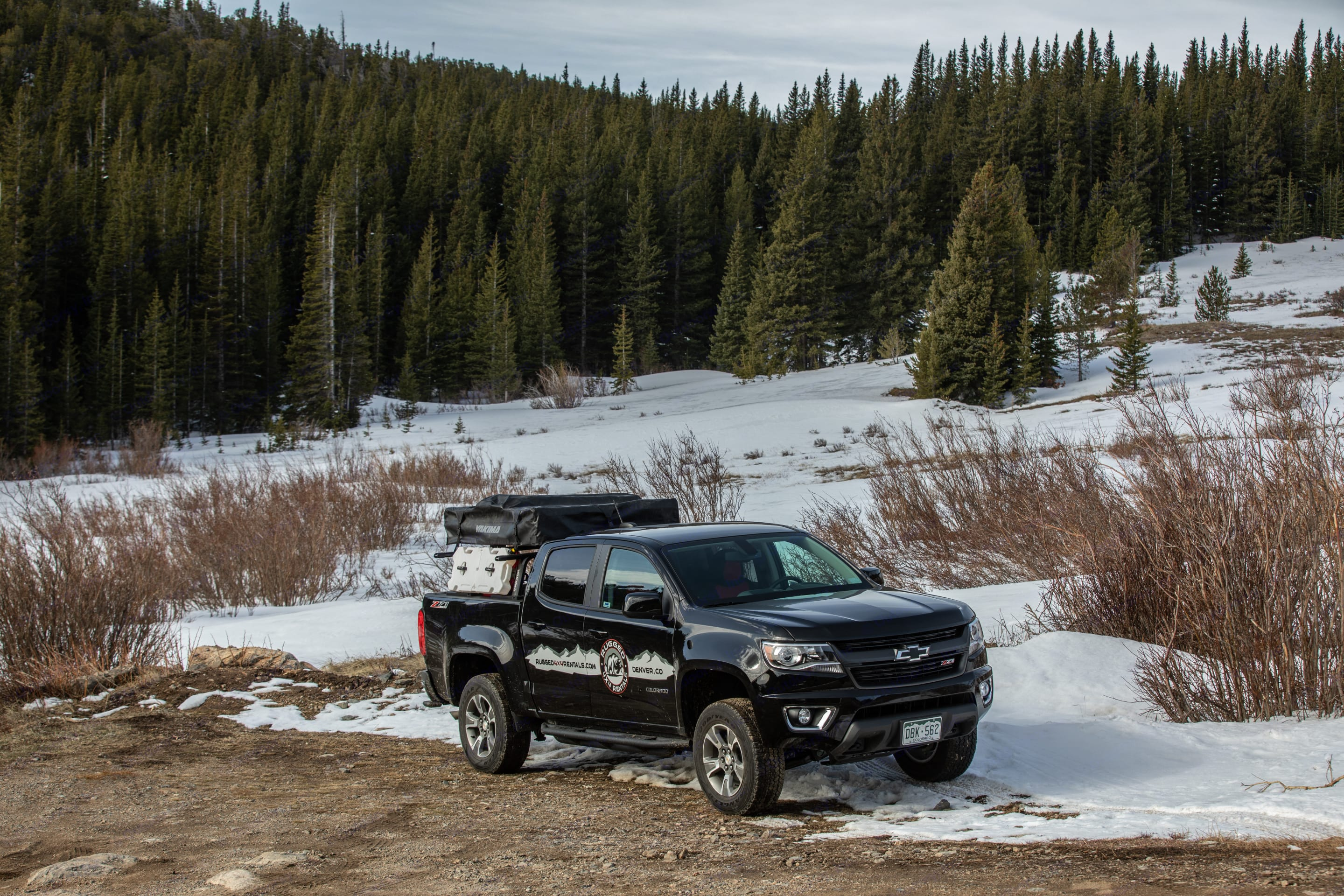 Adventure. It's the word we live by here at Rugged Van Rentals. Our desire is to spread that word and give people the means to live it out. In 2018, we introduced what no one else ever has, true 4x4 adventure van rentals capable of taking you and all your friends safely into the backcountry with all your gear. Now we are stepping up our game. We are adding overlanding trucks to our fleet!. Chevrolet Colorado 2019