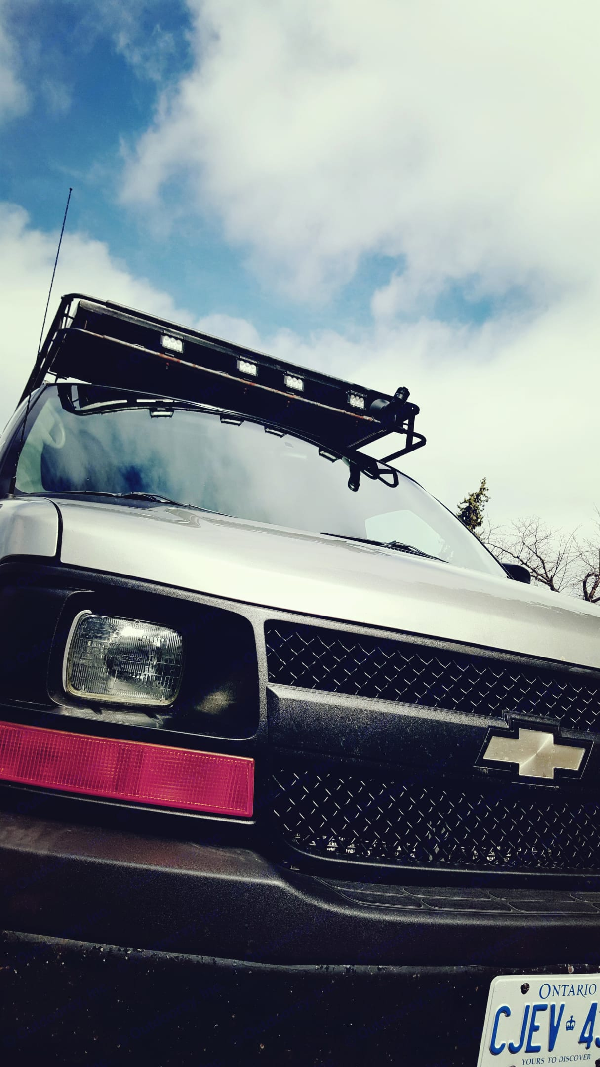 Rugged on the outside!. Chevrolet Express Cargo Conversion 2004