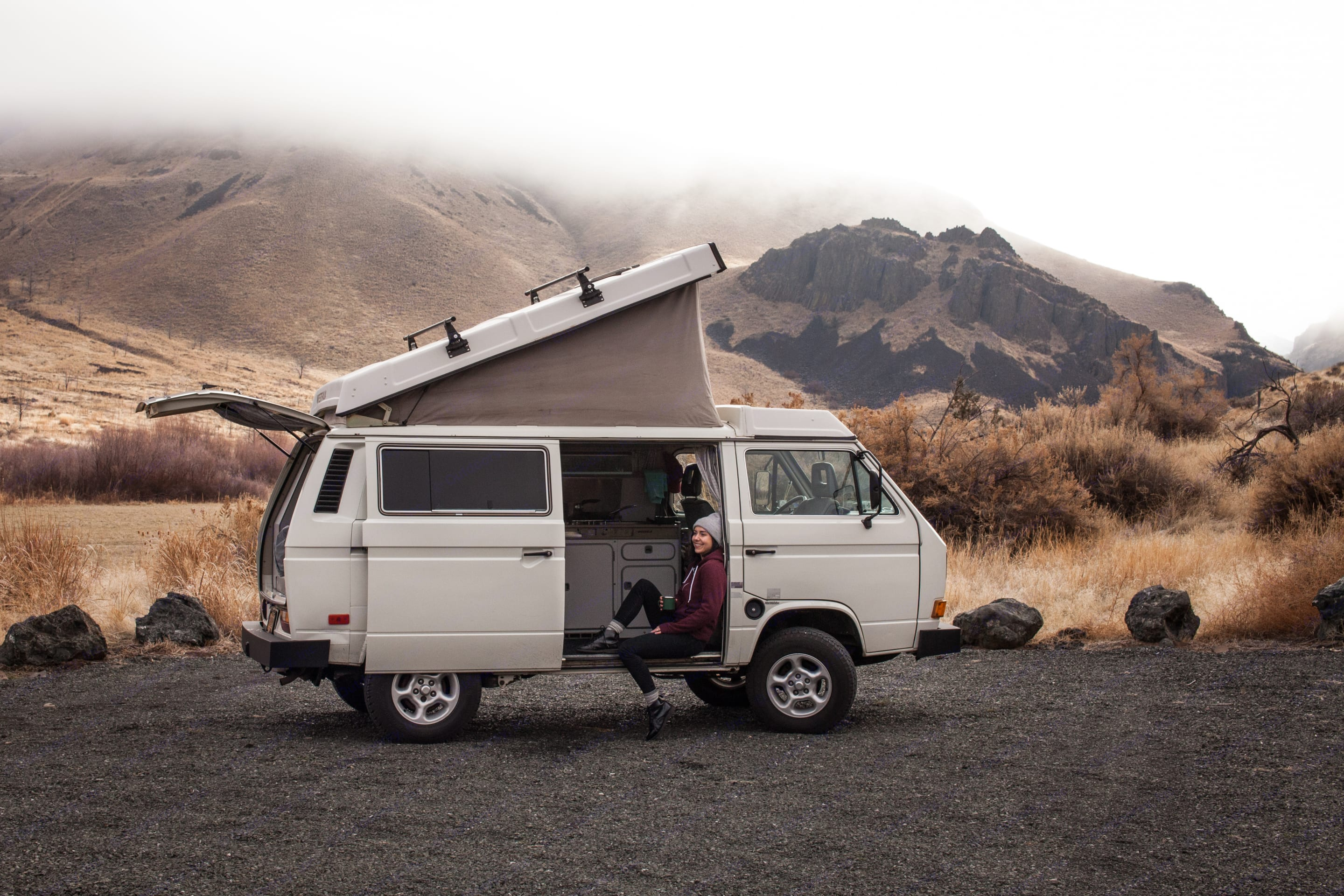 There's no van with such romance and classic style like Tumalo.. Volkswagen Vanagon Camper 1987