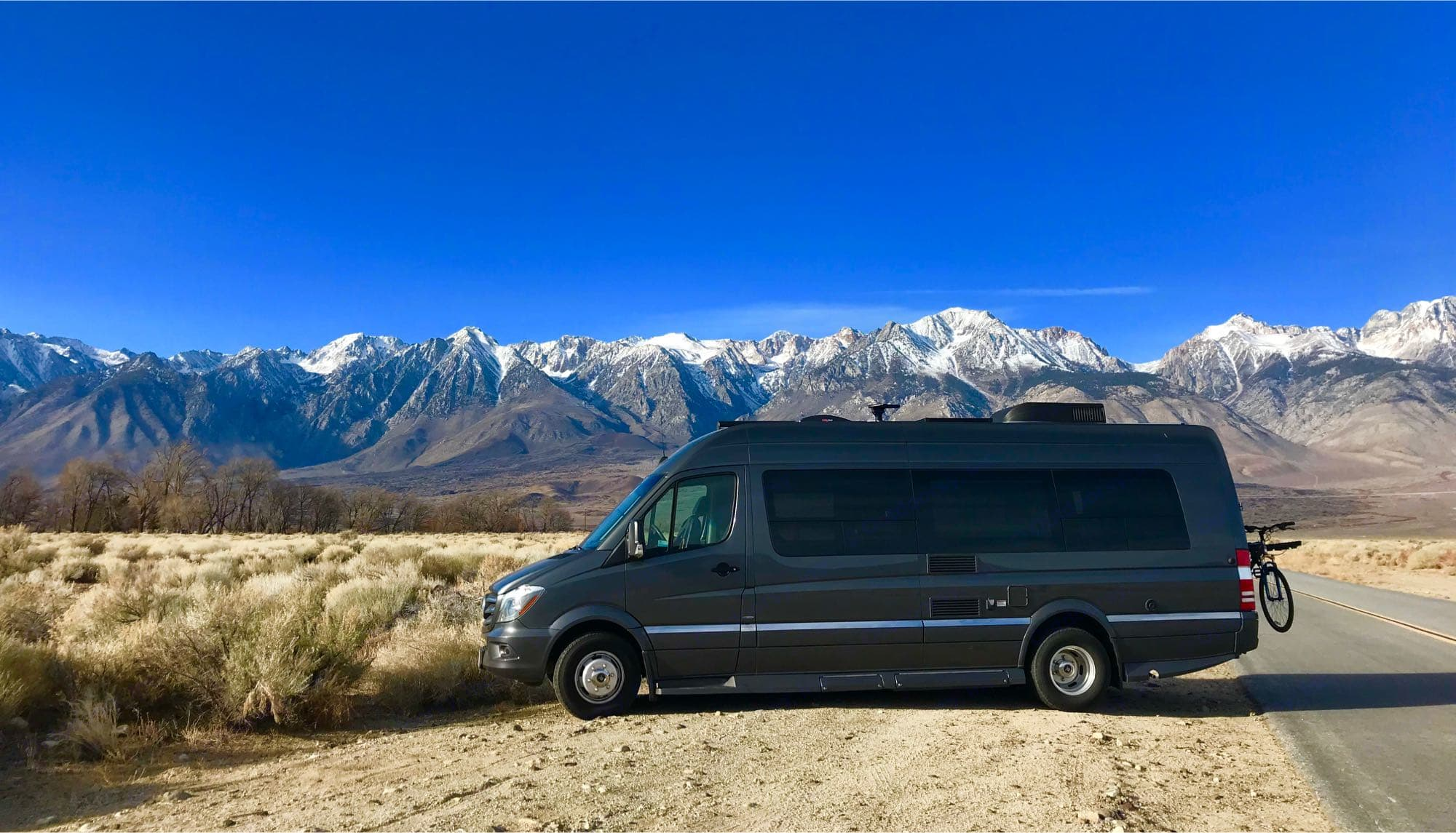 Dual wheels in rear provide excellent stability especially in high winds.. Winnebago Era 2017