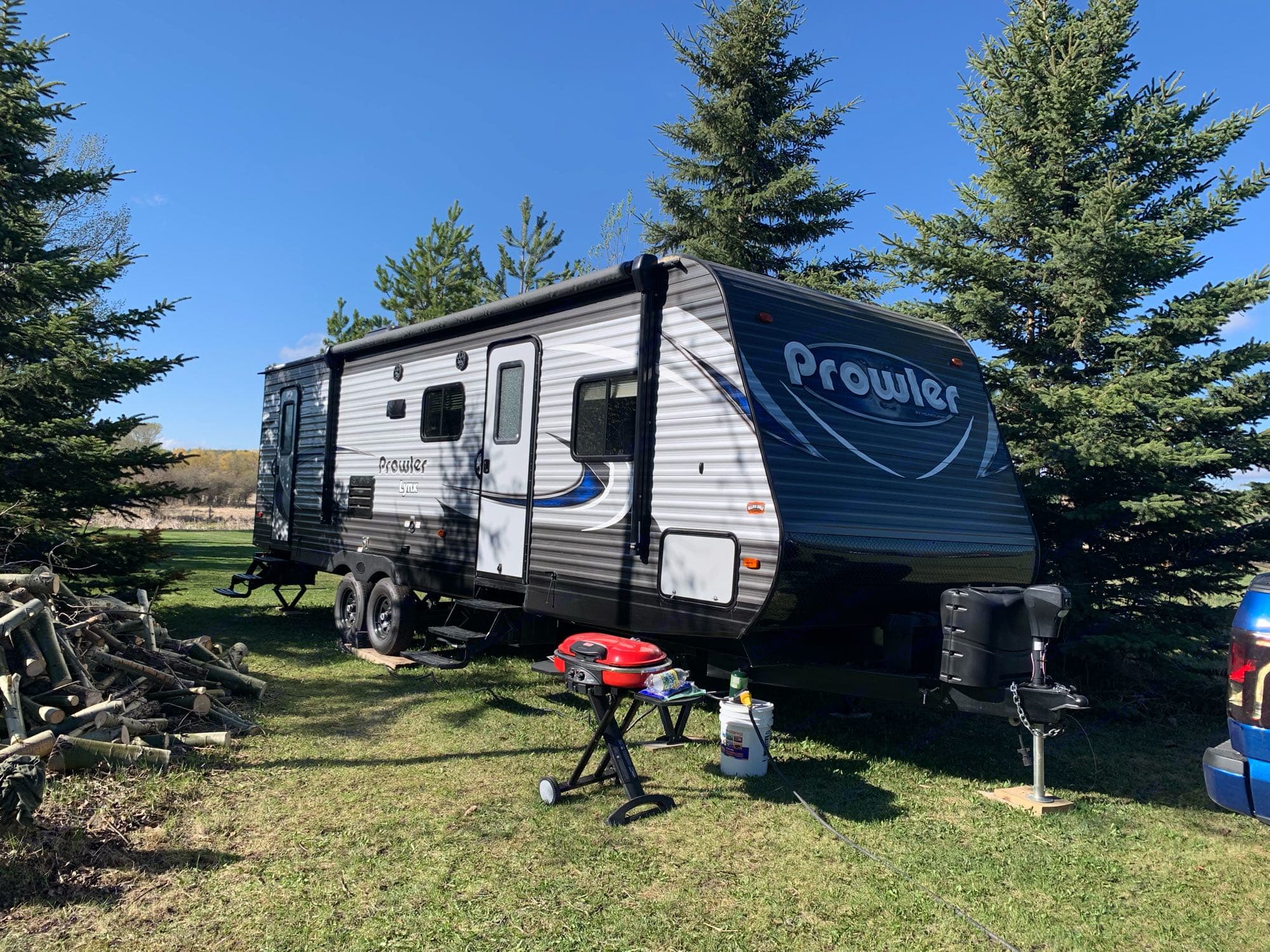 Coleman BBQ included!. Heartland Prowler Lynx 2018