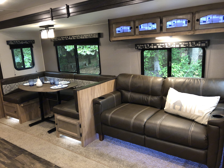 Spacious Living Area. Coachmen Freedom Express 2019