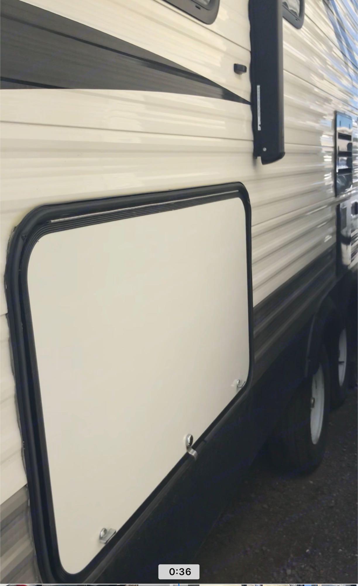 rear storage. Jayco Jay Flight 2017