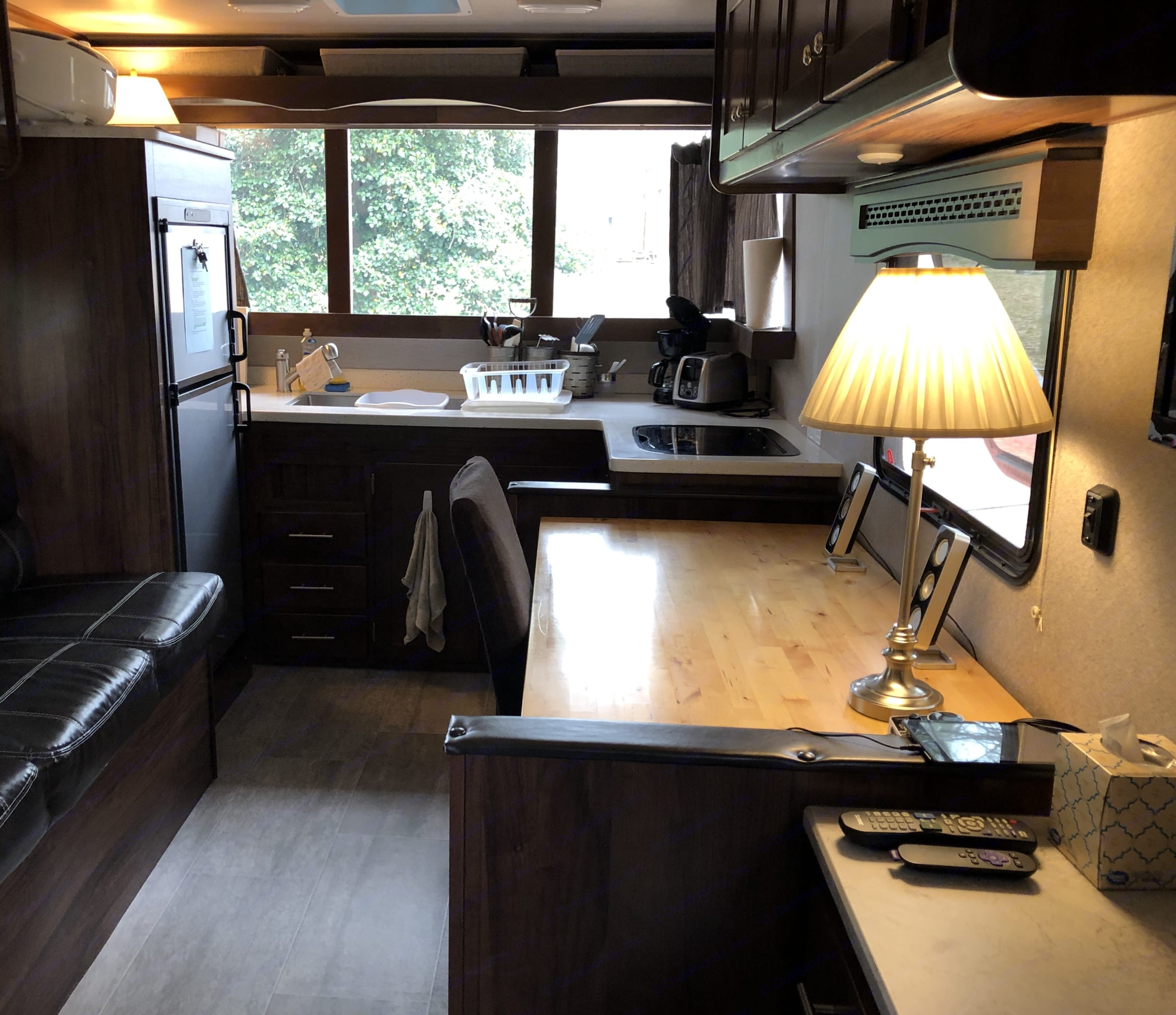 We can equip camper with dinette or full size dining table and chair.. Heartland Terry 2018