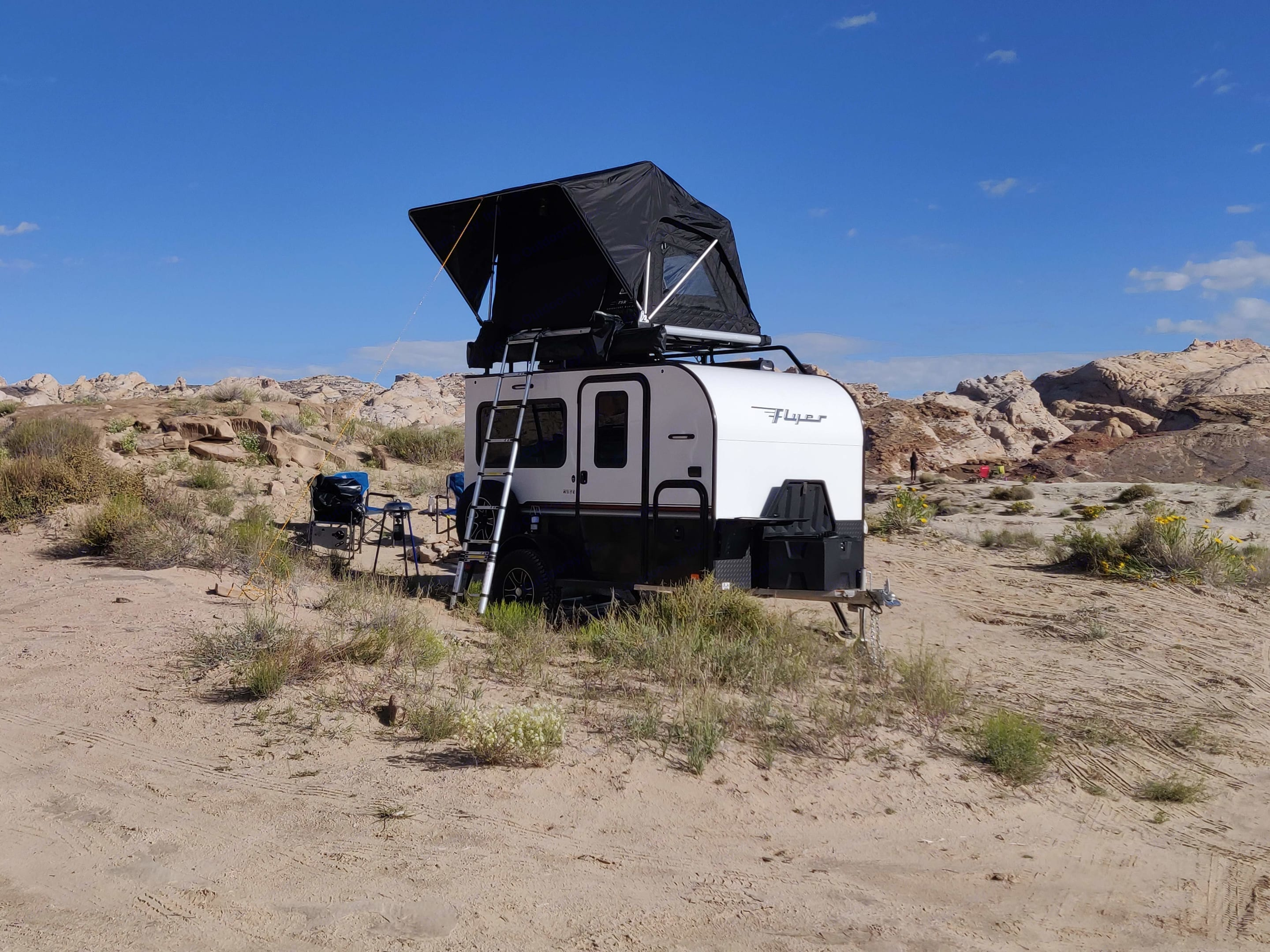Camping in style in Goblin Valley. Intech Explore 2019