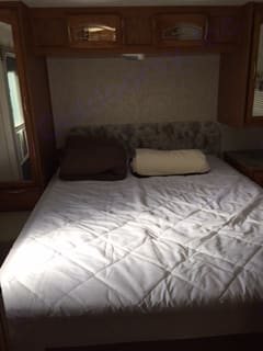 Double Bed. Starcraft Camping Trailers 2003