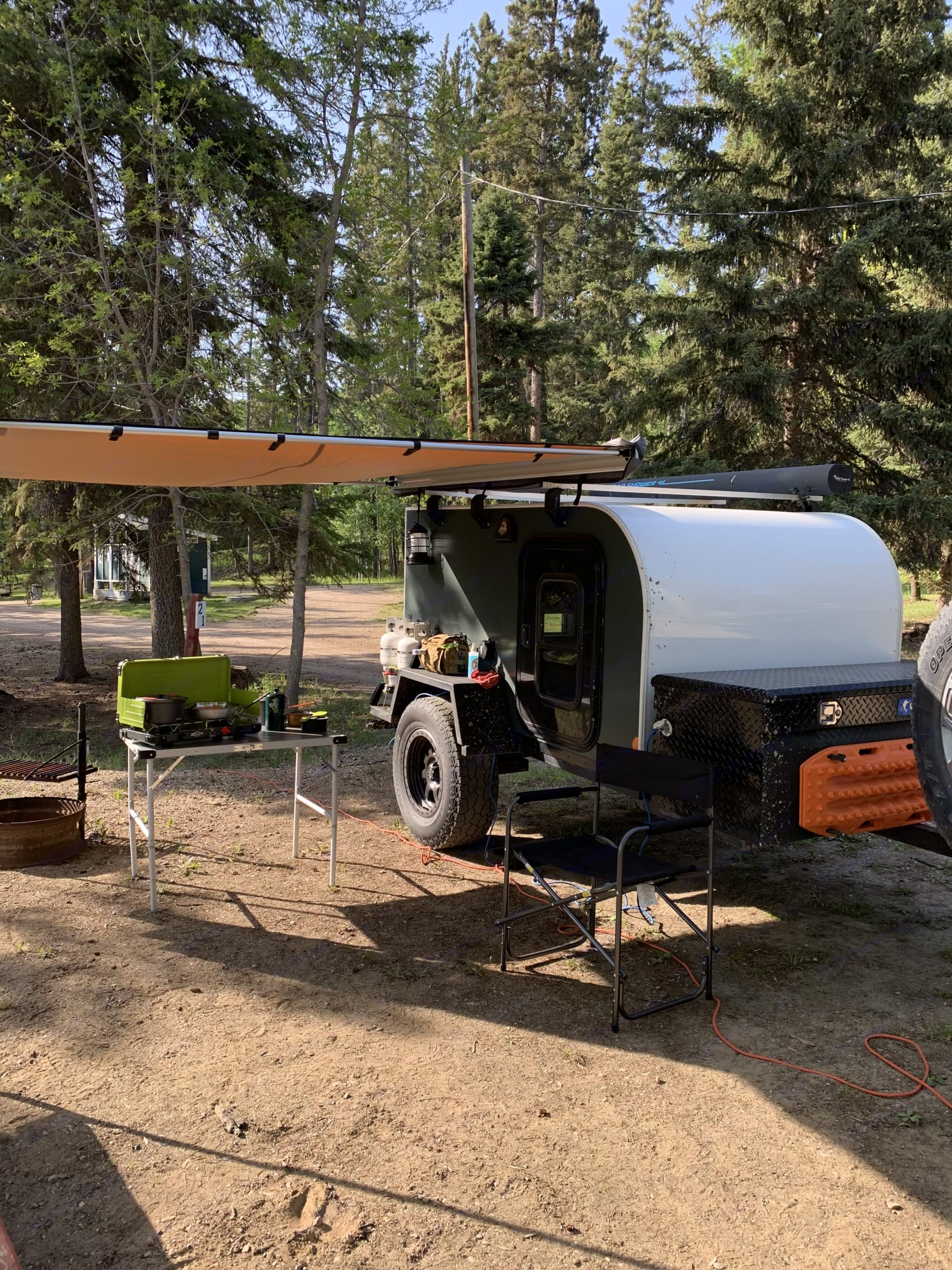 AB awning can be added to your package. Please see our add on page for more information.. Jeep Rubion 2017