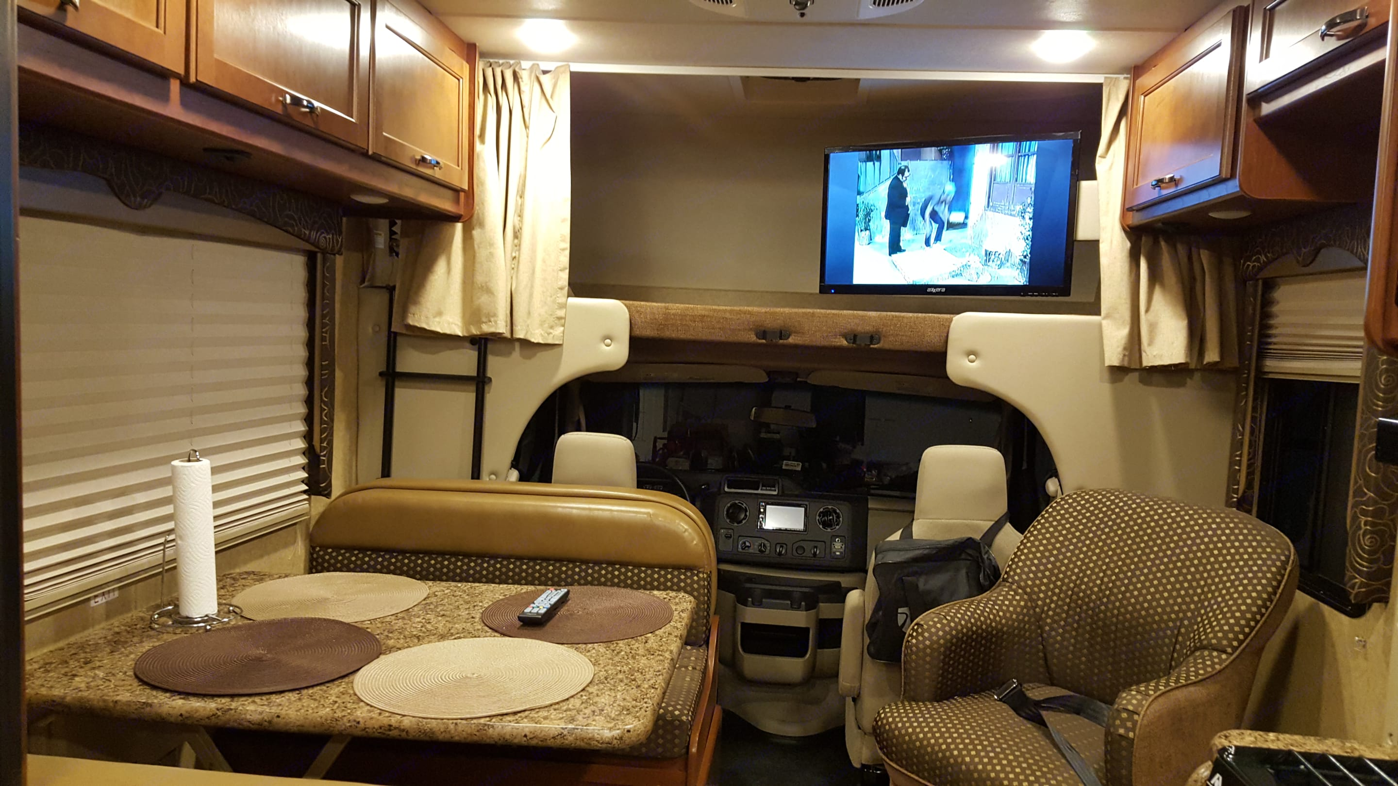 View towards the front . Thor Motor Coach Freedom Elite 2017