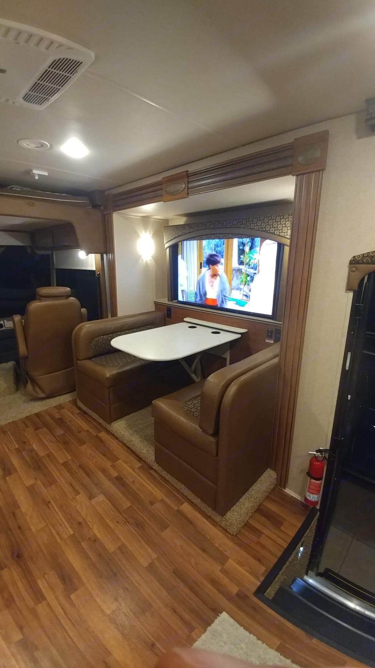 50' 4K Smart televator TV.. Jayco Precept 2016