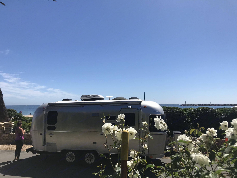 Camping in Southern California. Airstream International 2018