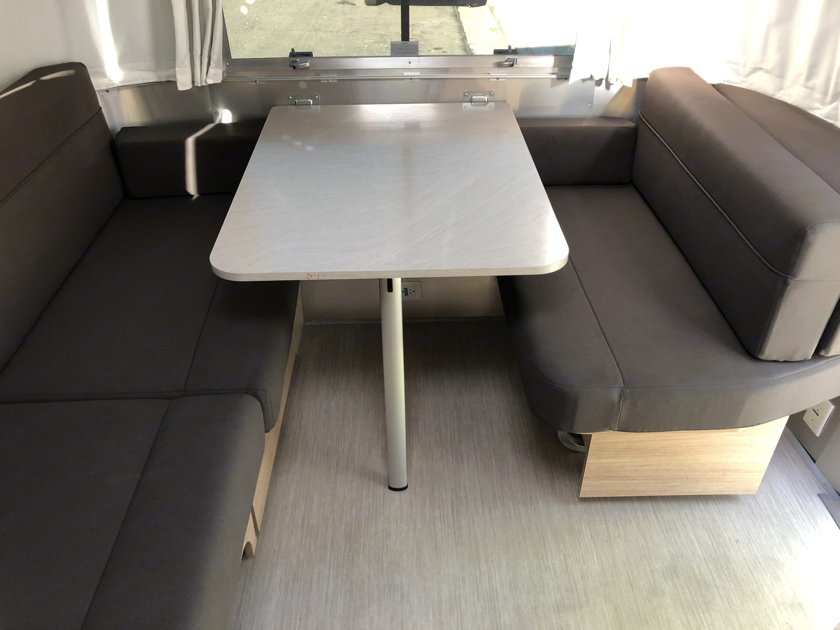 Convertible table to bed.  . Airstream Other 2020
