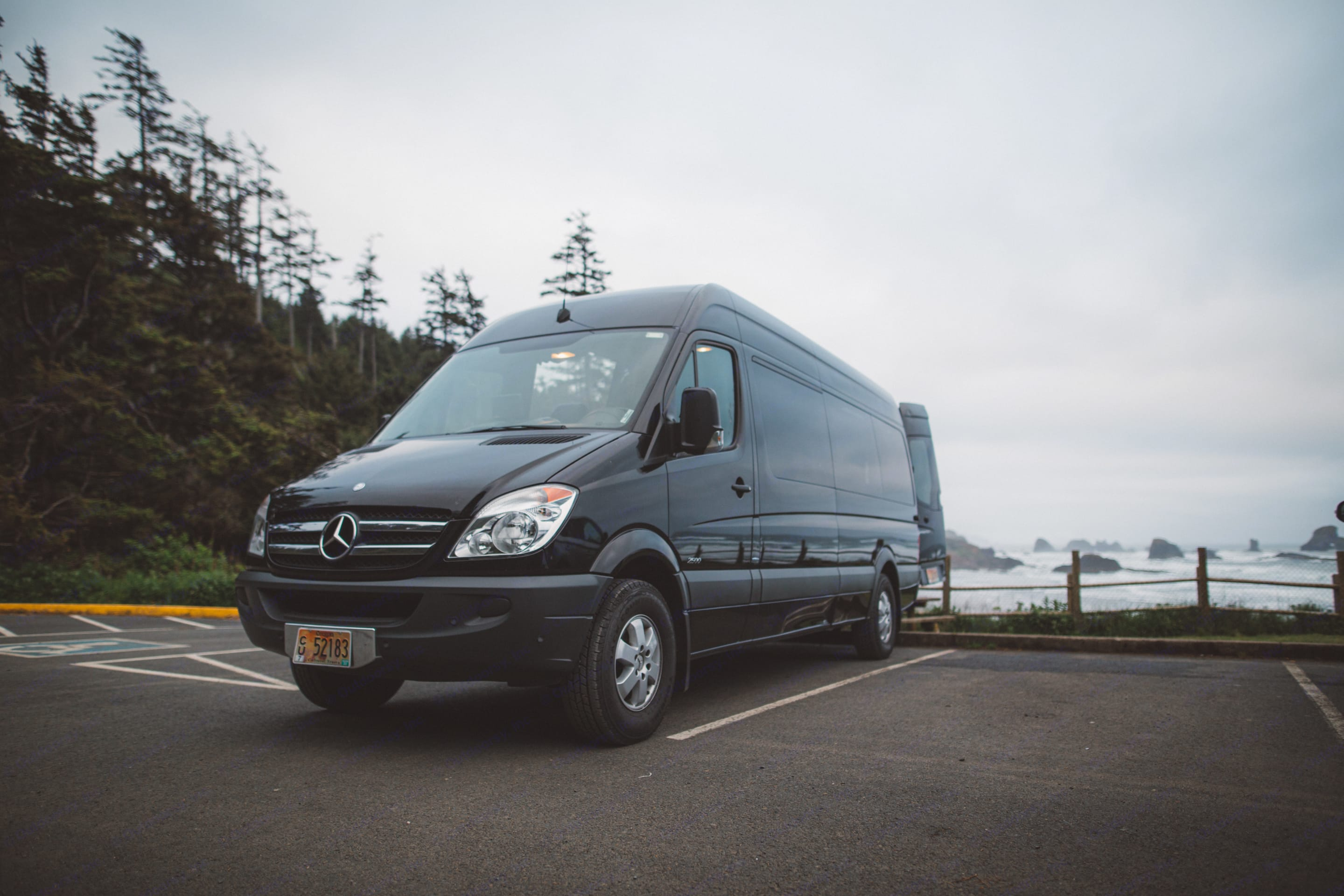 Lyra, a 2013 Mercedes-Benz Sprinter camper conversion, is ready to take you on your next big adventure.  . Mercedes-Benz Sprinter 2013