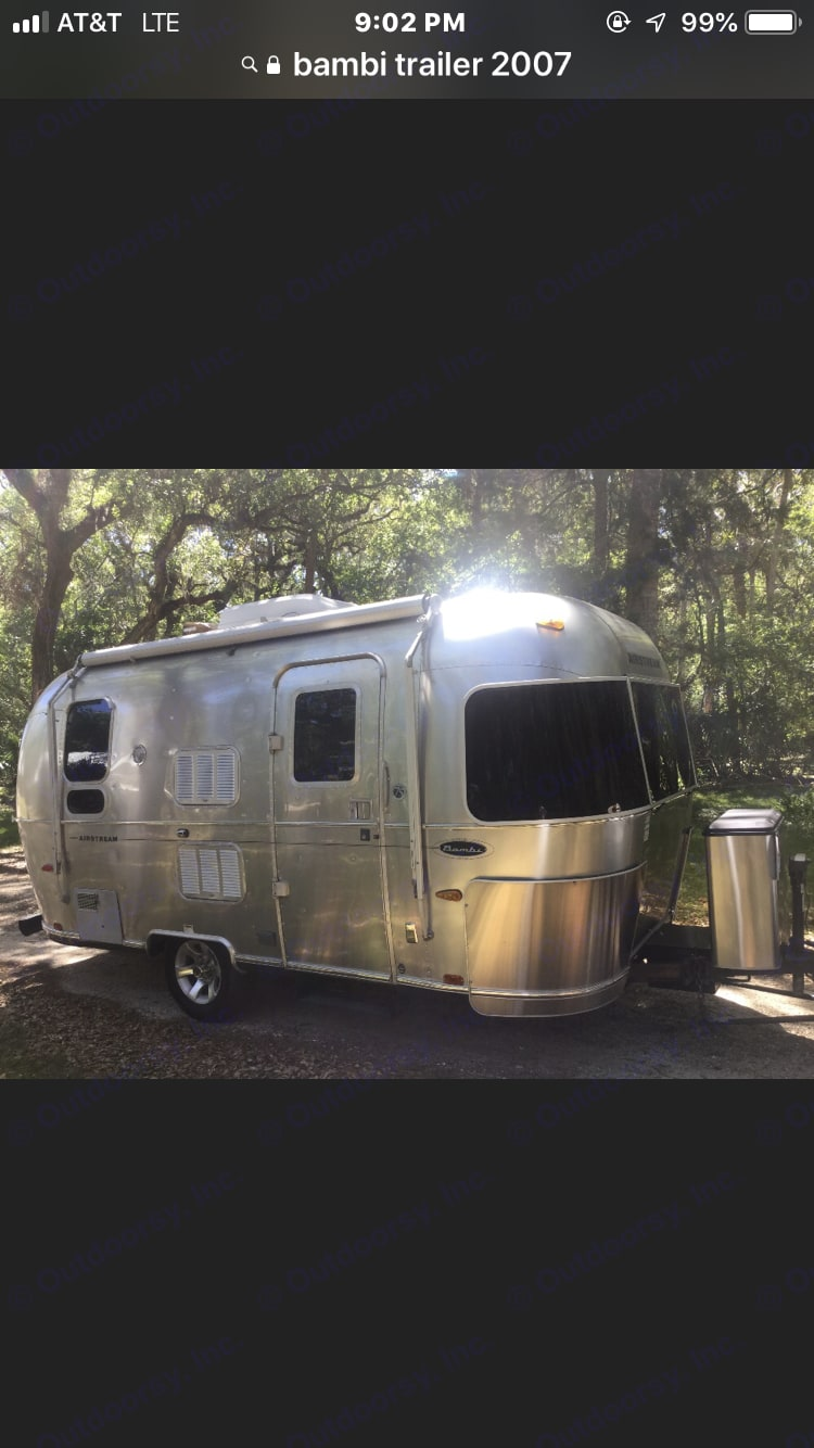 Airstream Limited edition Bambi 2007