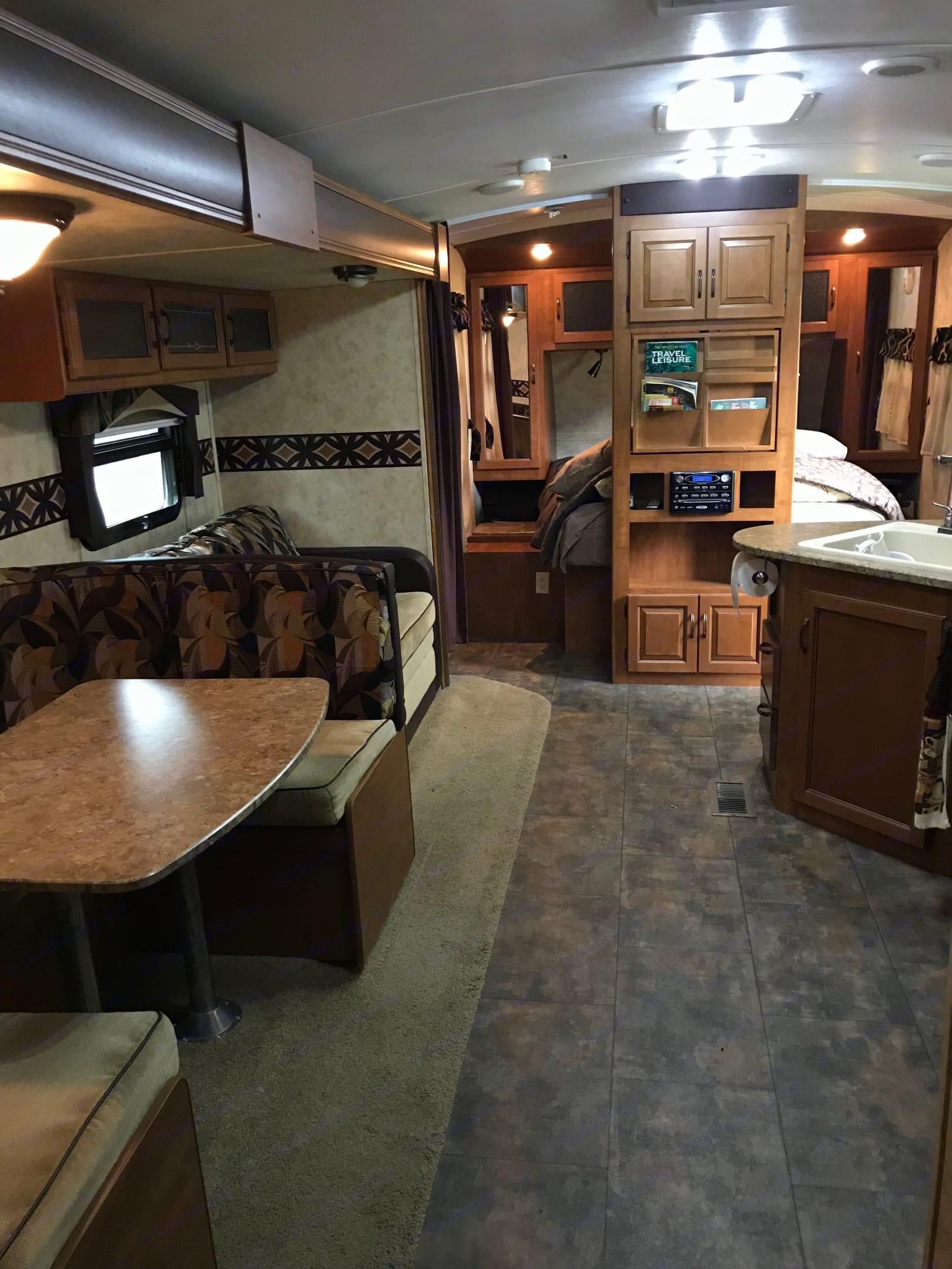 Living area. Keystone Bullet Premier 2011