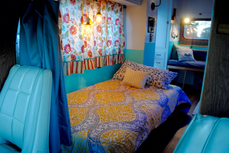 Futon Bed. Winnebago Minnie Winnie 1973