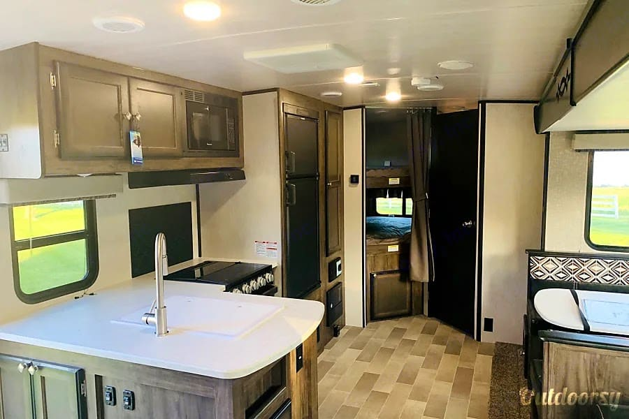 View into the main part of the camper. Heartland Other 2020