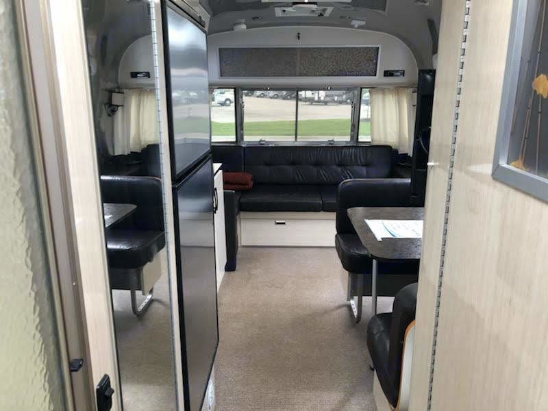 Peaceful color tones and sleek styling to help you relax on your adventure!. Airstream International 2013