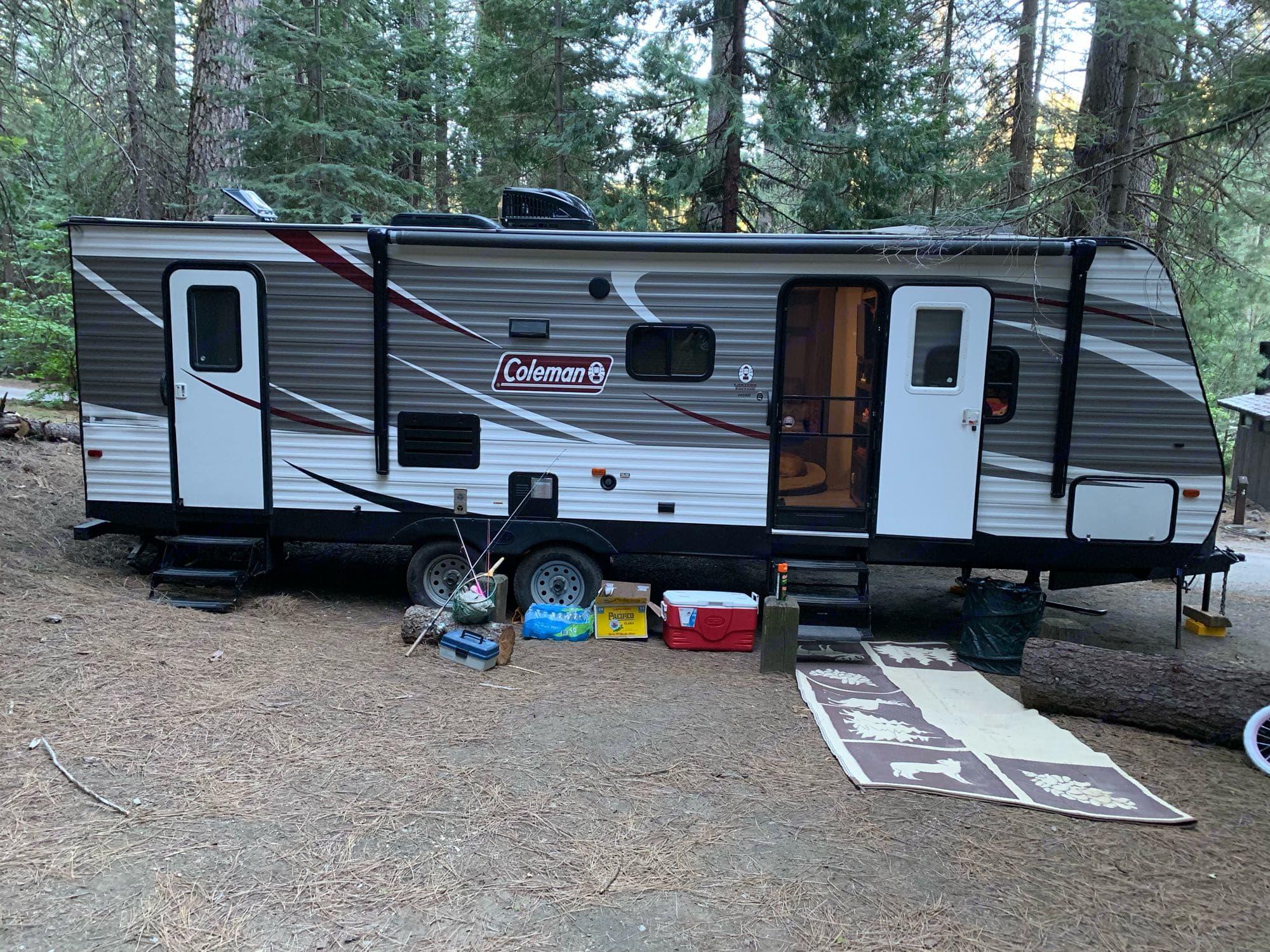 trailer setup. Coleman Other 2018