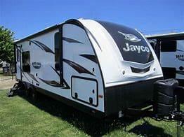 Sleek and aerodynamic for fuel savings. Jayco White Hawk 2016