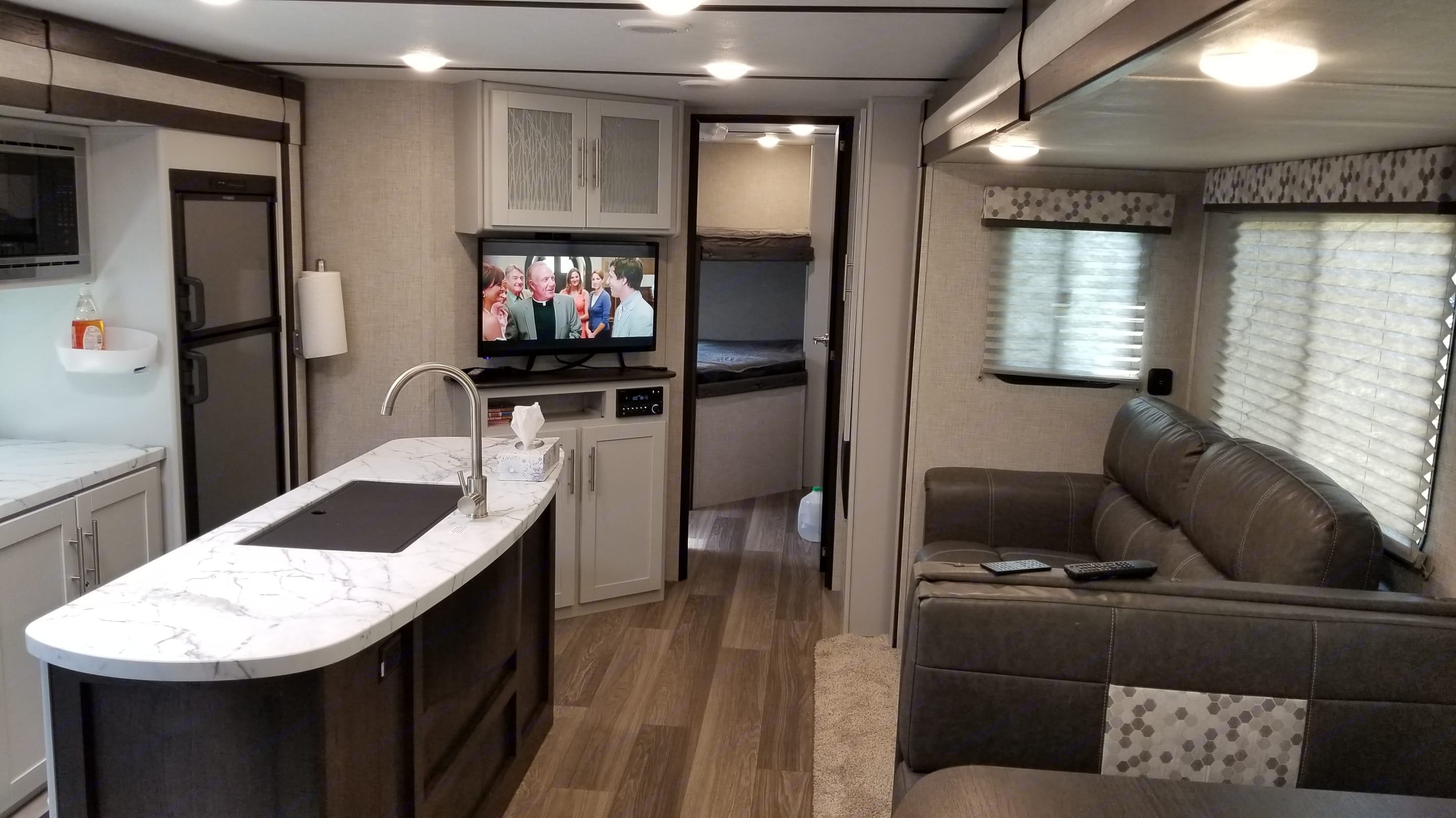 This is the main living area.. Keystone Bullet 2020