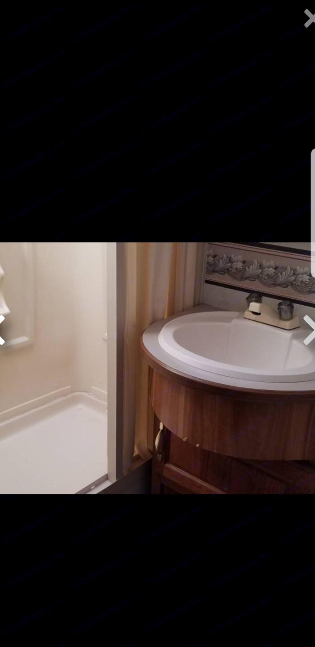 Bathroom. Ford Fourwinds 1999