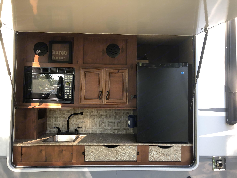 Outdoor kitchen. OpenRange Light 2013